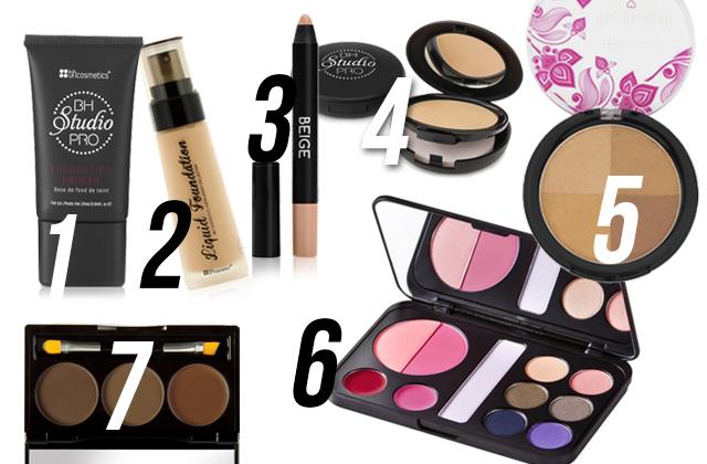 BH Cosmetics produktai